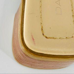 Shoes - DANELLE Leather Colorblock Heeled Sandal EUC JUI01